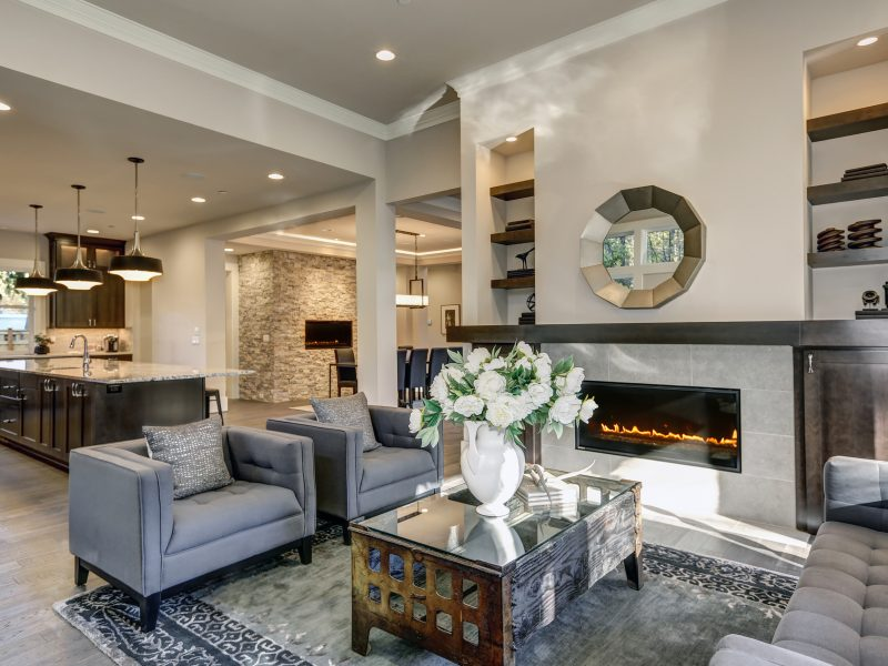 Built-in Fireplaces | Living Room & Bedroom